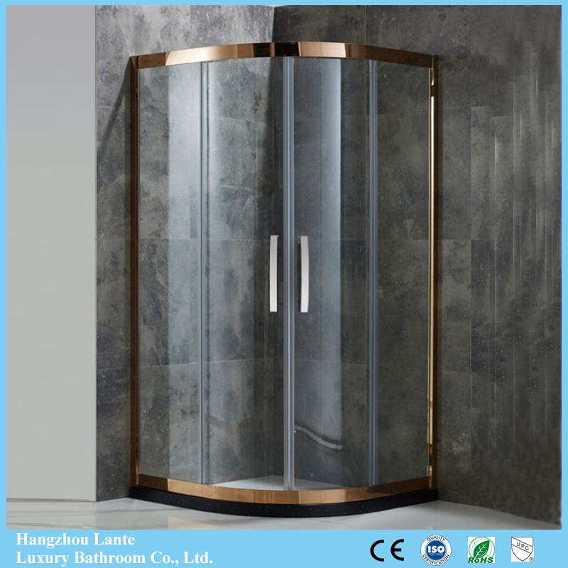 China High-End Design Sector Shape Stainless Steel Shower Enclosure ...