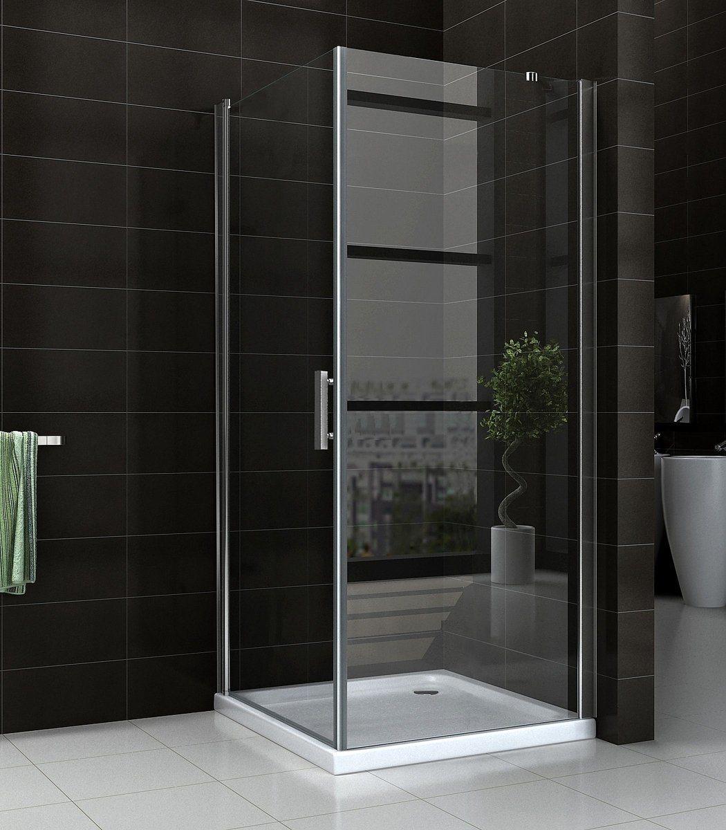 Hot Item 8mm Tempered Glass Aluminum Alloy Frame Pivot Shower Enclosure