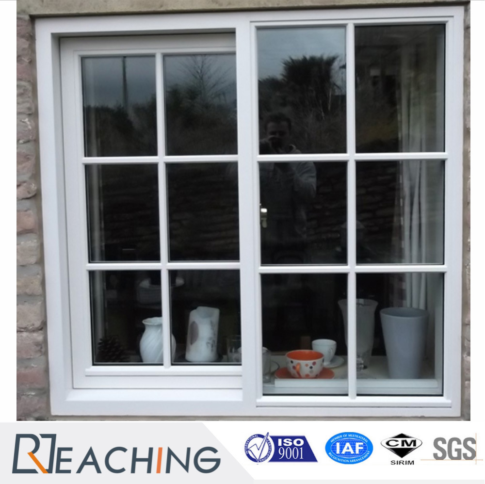 China Economic Style Upvc Sliding Window With Fly Screen Photos