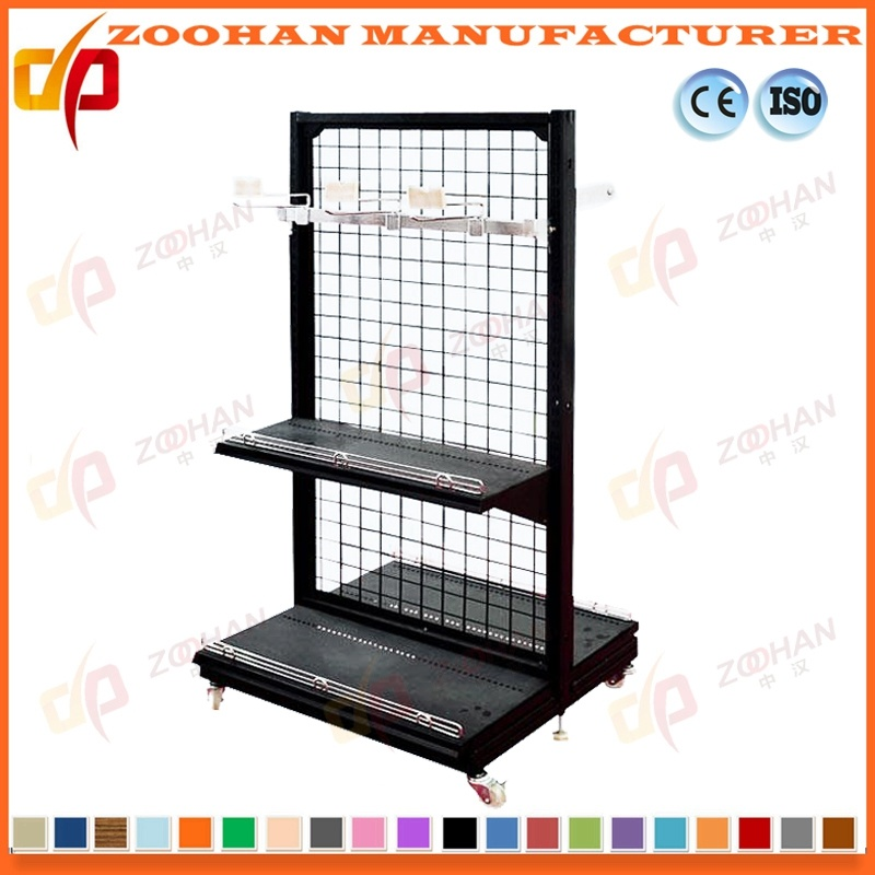 China Metal Supermarket Wall Wire Shelves Store Display Fixtures ...
