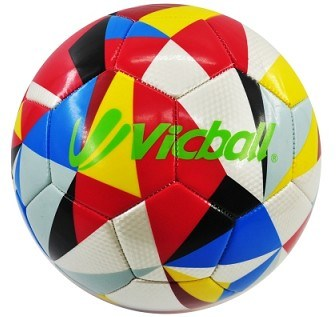 2016 New Design Colorful Promotion Soccer Ball