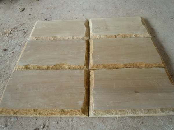 Hot Beige Crazy Stone Building Materrial Wood Sandstone pictures & photos