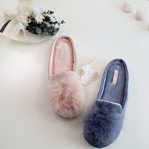 91824026201 China Simple Style Light Blue Pink Ballerina Slipper for Women Lady ...