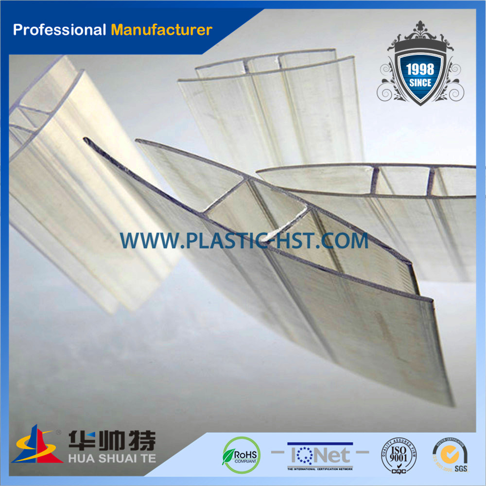 Transparent Extrusion PC Profile/ Poli Carbonate Accessories
