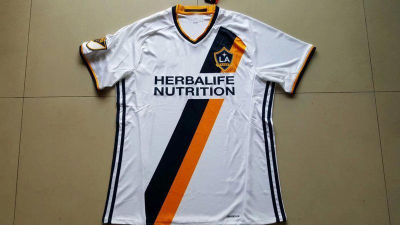 best sneakers 62368 93714 [Hot Item] 2016-2017 Season La Galaxy Home Soccer Jersey Football Uniform