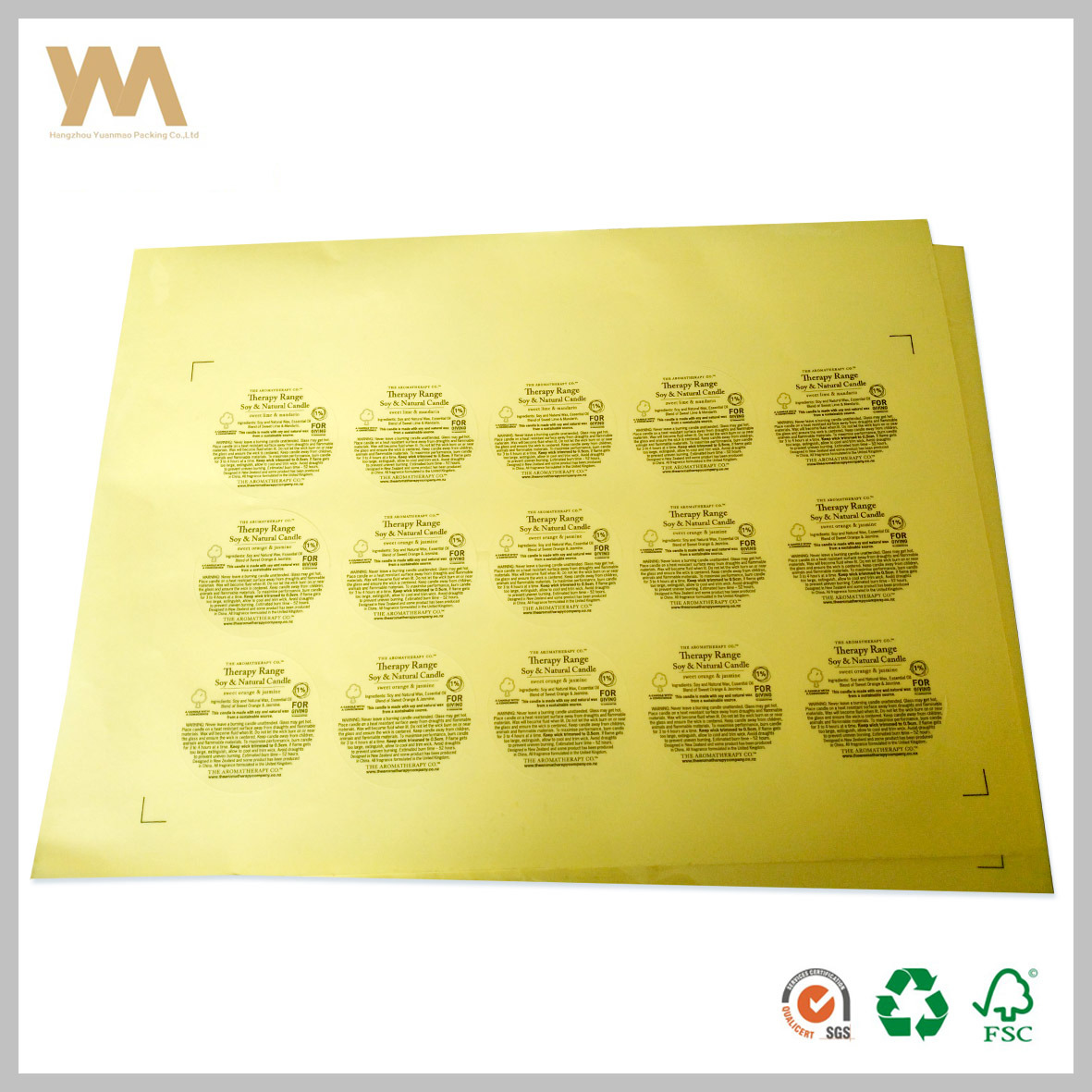 China pvc custom logo printing stickers china adhesive label sticker