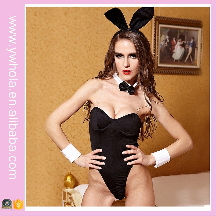 Europe New Christmas Bunny Girl Sexy Game Underwear Hallowmas Lingerie pictures & photos