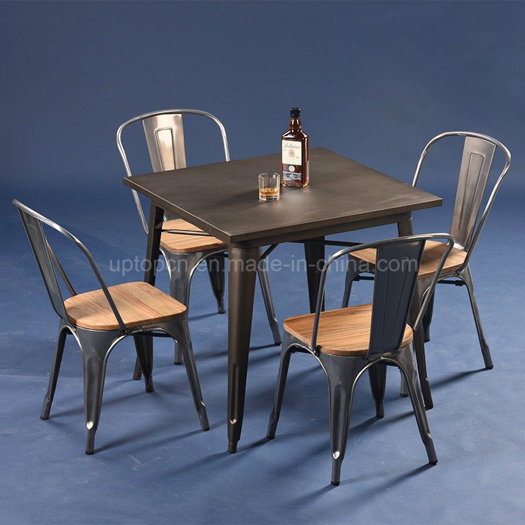 China Wholesale Industrial Metal Cafe Restaurant Furniture (SP CT675)    China Restaurant Furniture, Cafe Furniture