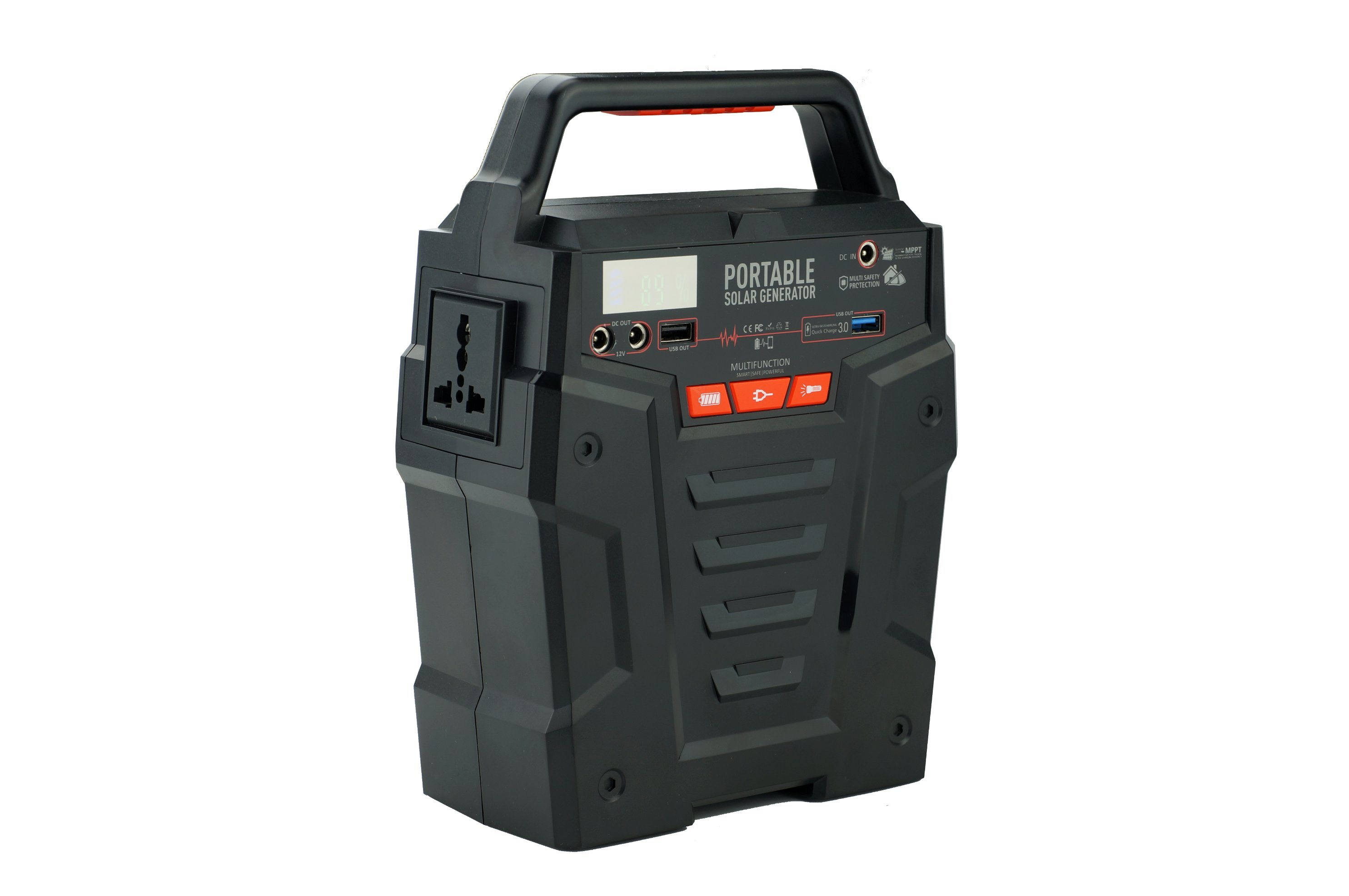 china portable generator power station with ac dc outlet usb ports