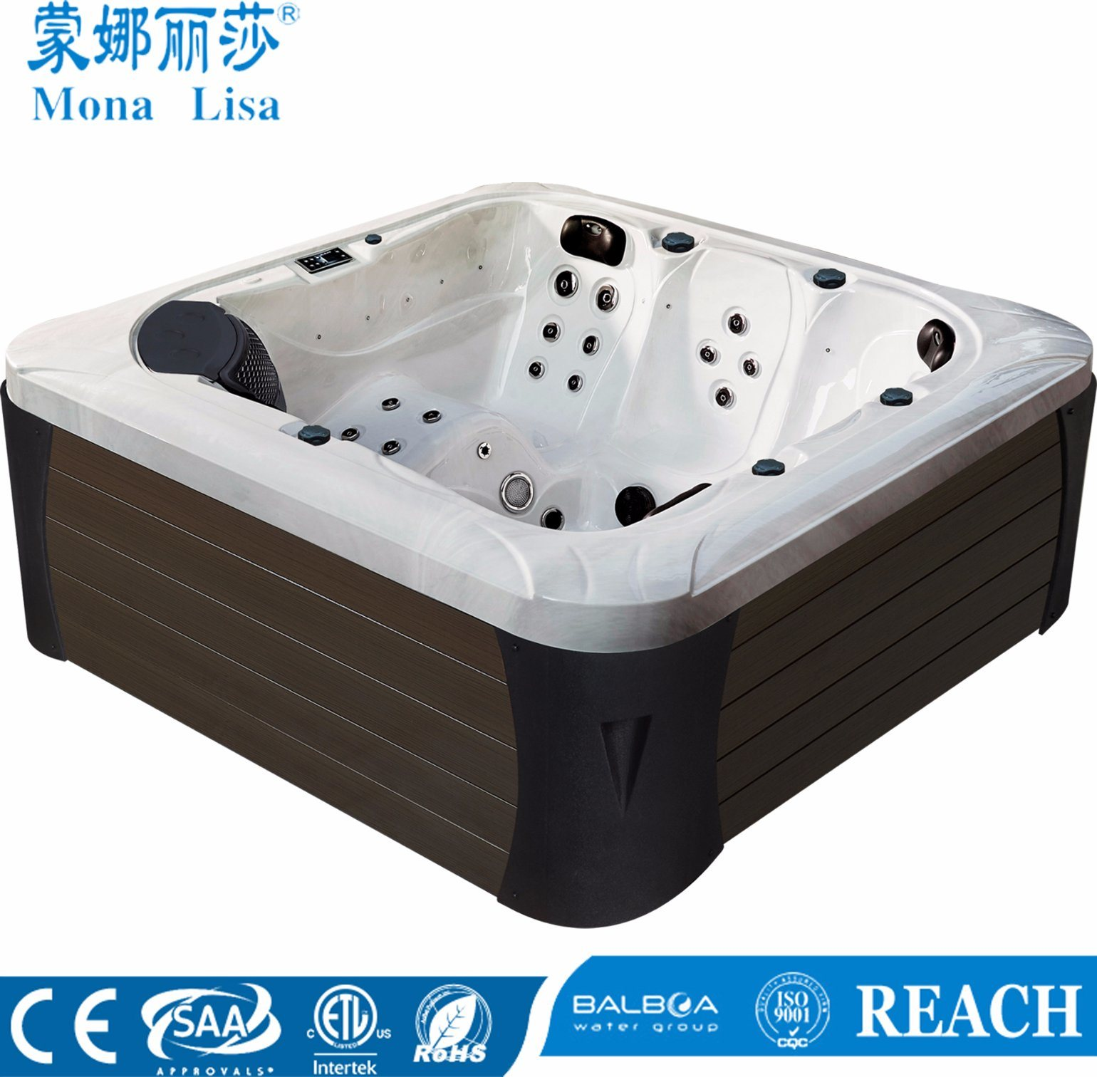 China Monalisa Wholesale Outdoor Luxury Whirlpool SPA Hot Tub (M ...