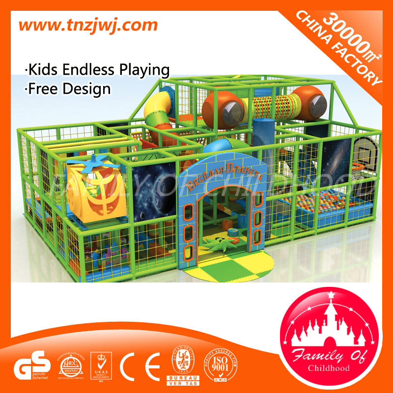 Jungle Theme Indoor Playground Equipment Naughty Castle for Baby pictures & photos