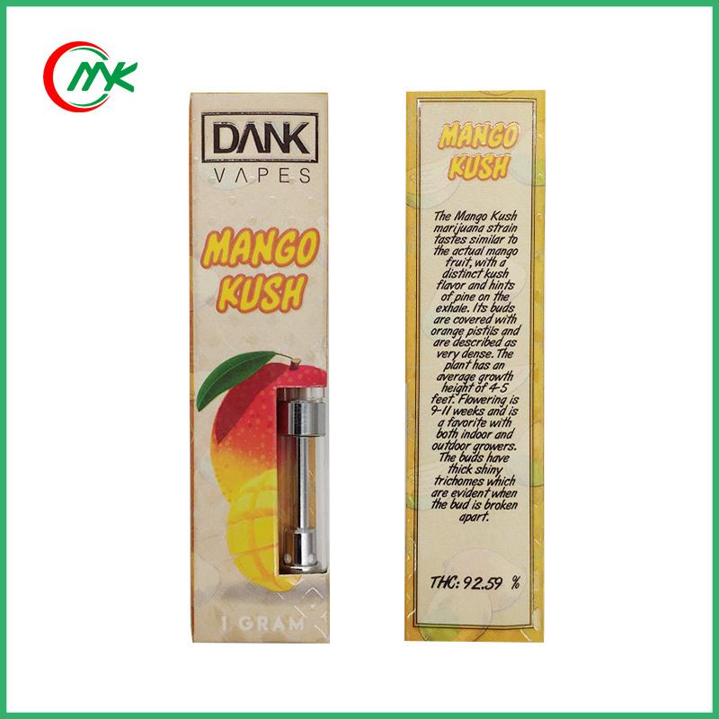 [Hot Item] Hot Selling Dank Vapes Cbd Thc Oil Vape Atomizer