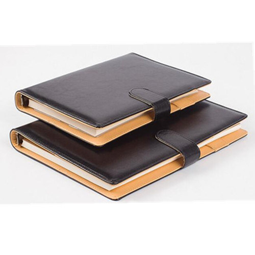 2019 Diary A4 Week To View Diary Flexi Leather Cover Embossed and Stitched