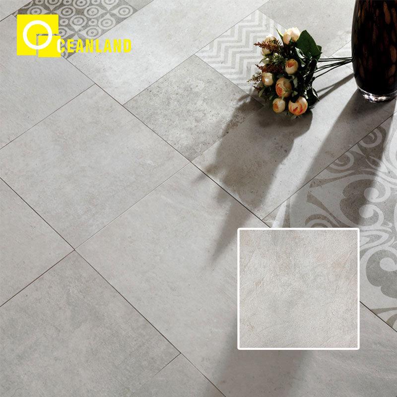 China 18x18 Grey Kitchen Floor Fireproof Glazed Porcelain Tile China Ceramic Tile 600x600 Porcelain Floor Tiles