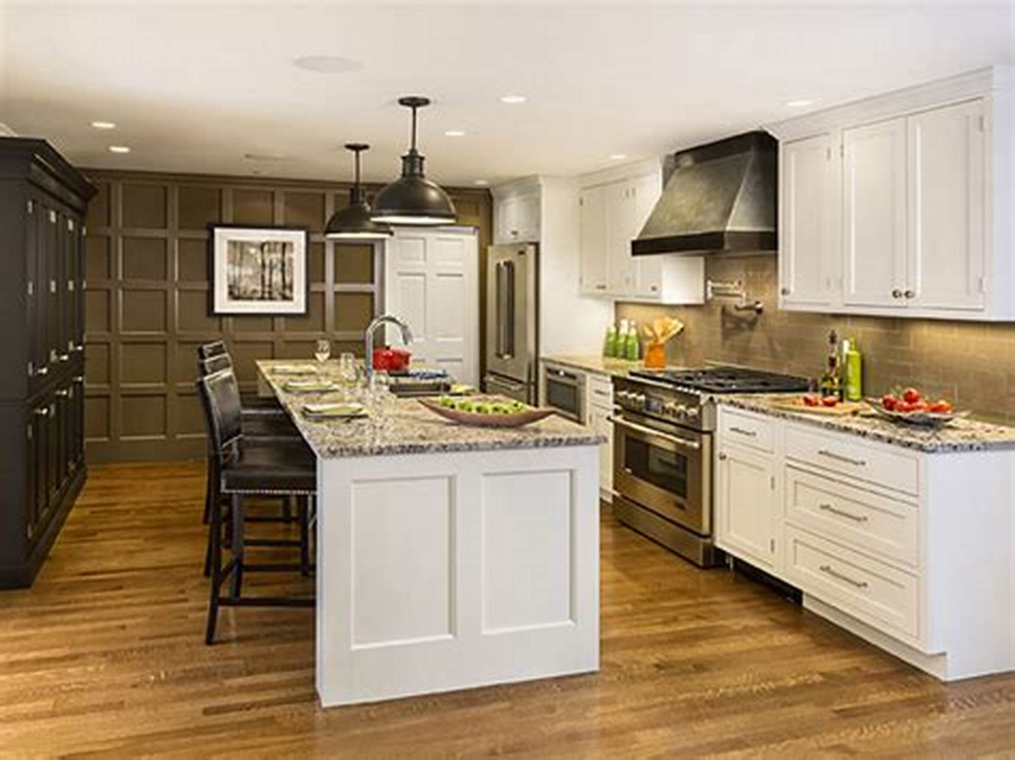 Apartment kitchen cabinets white shaker solid wood cabinets soft close in standard size