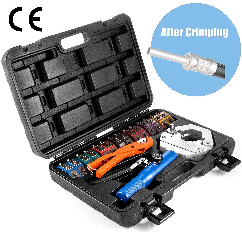 NEW 71500 Hydraulic A//C Hose Crimping Air Conditioning Repair Crimper Tools Dies