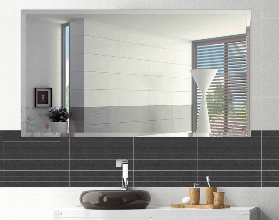 China 5mm Hotel Bathroom Decorative, How To Hang A Large Unframed Mirror