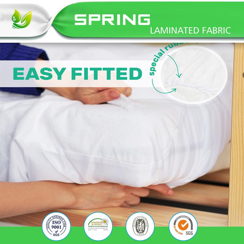 China 80 Cotton 20 Polyester Waterproof Queen Foam Mattress Topper