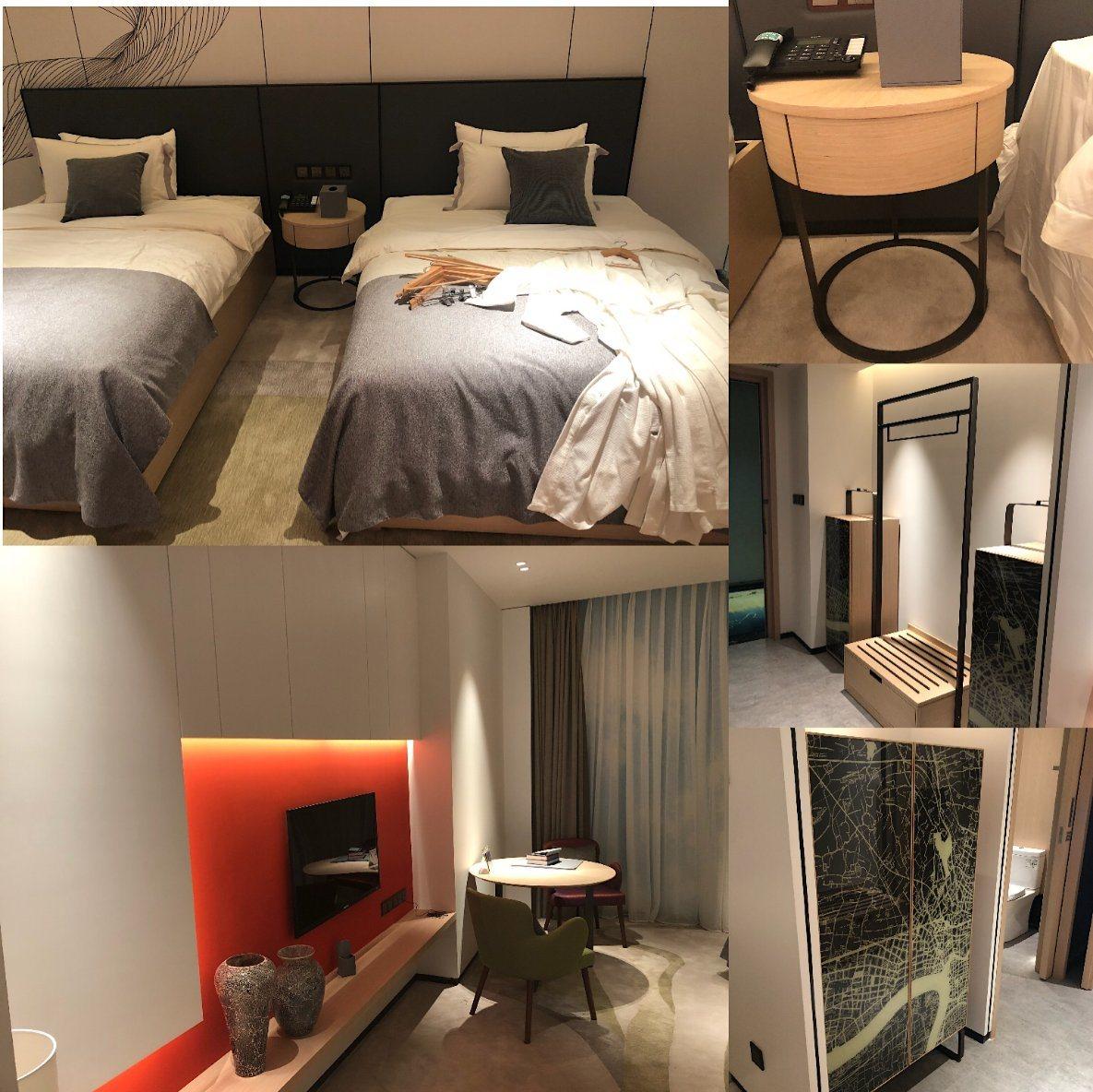 [Hot Item] 2019 New Design Luxury Modern King Size Hotel Bedroom Furniture  (GLBS-80001)