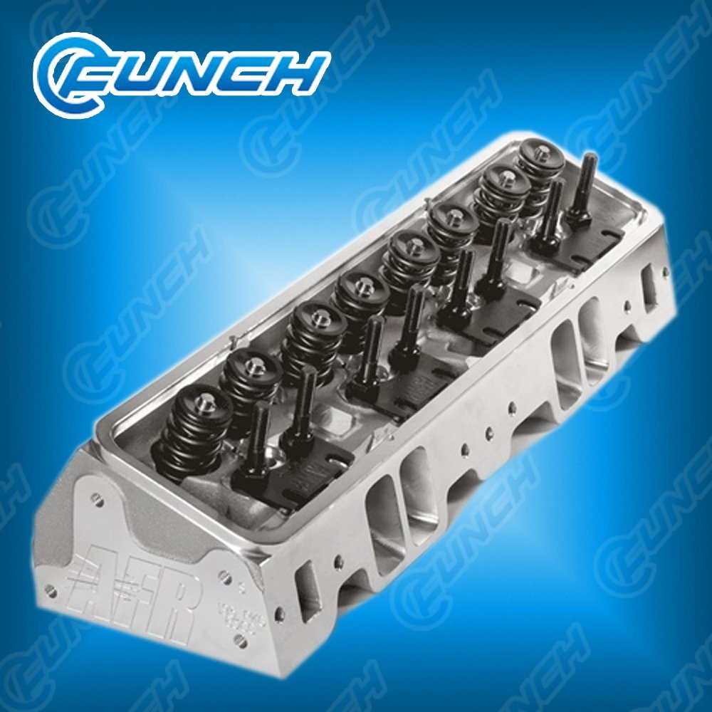 [Hot Item] Afr Sbc Aluminum Cylinder Heads Chevy 65cc New