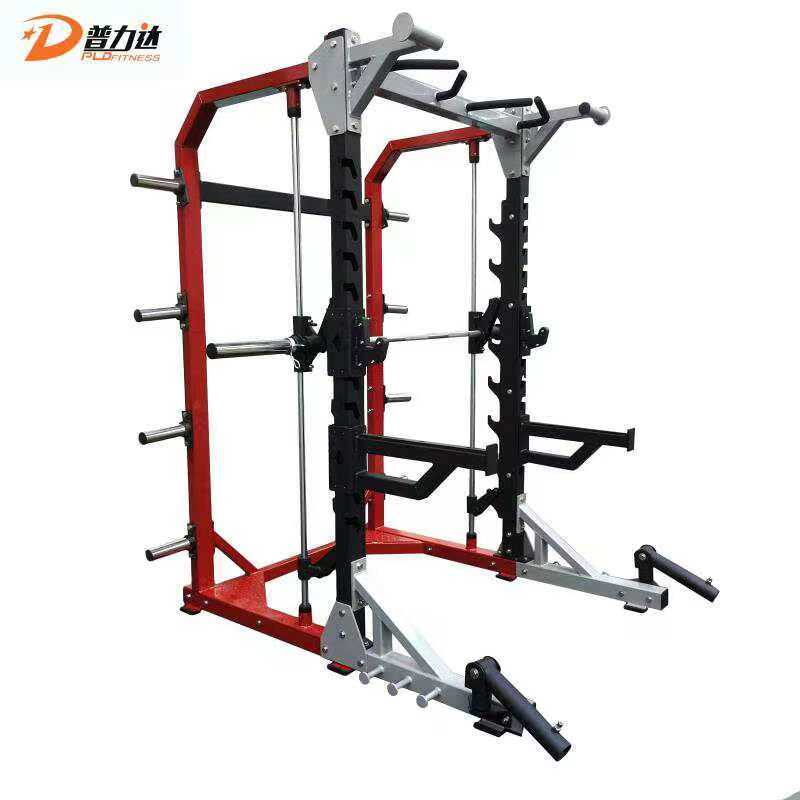 [Hot Item] Commercial Gym Equipment Hammer Strength Half Rack with Smith  Machine