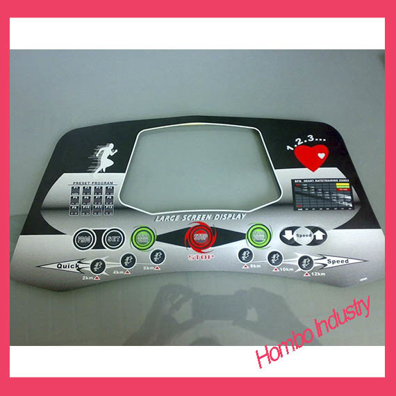 Customizing Digital Printing Graphic Tactile Membrane Switch pictures & photos