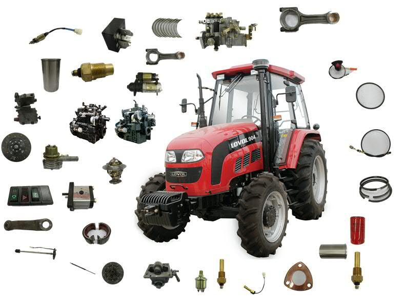 Tractor Spare Parts Oem : China foton tractor spare parts