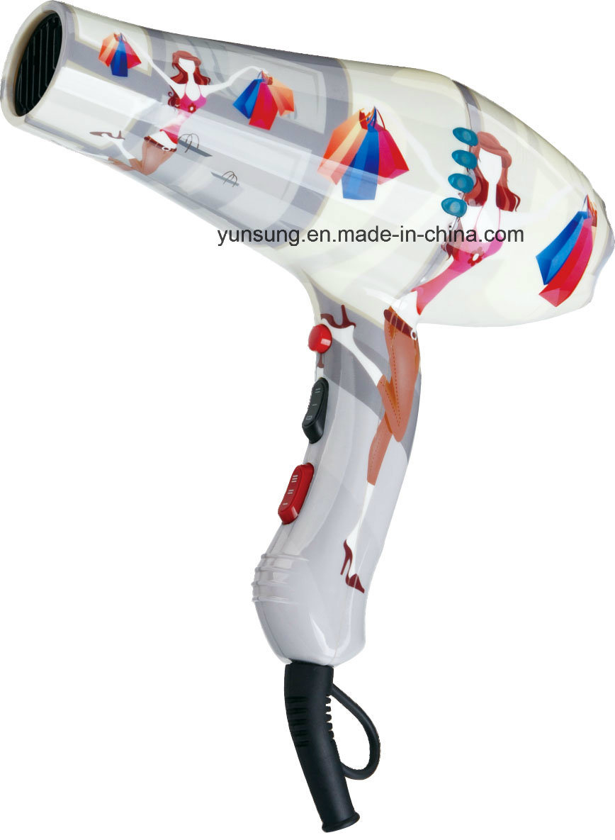 Professional Ionic Color Beauty Hair Salon Hood Dryer (YS-6720)