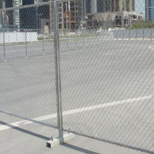 China Woven Mesh Type Temporary Fence - China Fence, Wire Mesh Fence