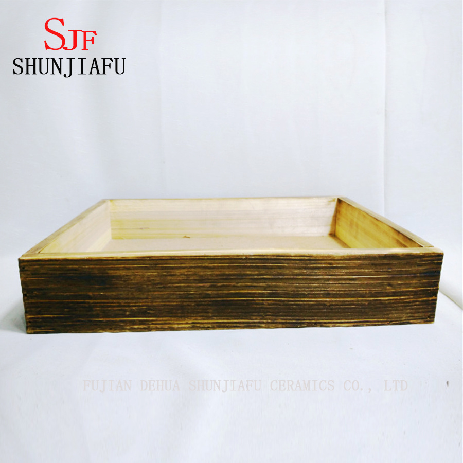 Flower Wooden Planter Box for Plants pictures & photos