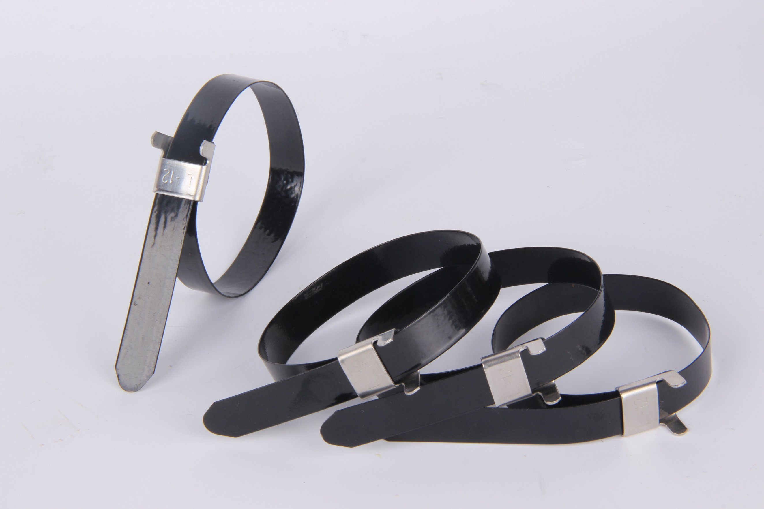 PVC Coated Ball Lock Stainless Steel Cable Tie