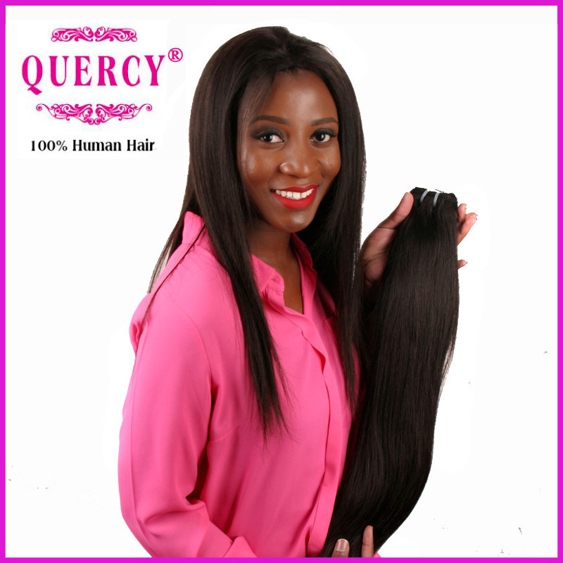 China 2016 New Arrival Indian Straight Remy Hair Weave For Black