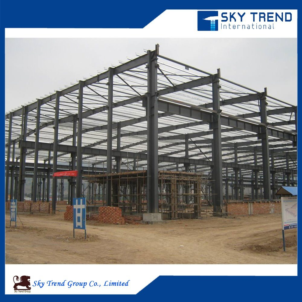 China Metal Steel Structure Warehouse Workshop Shed Steel Roof Truss Design China Metal Steel Shed Steel Warehouse