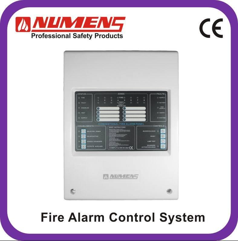 China Intelligent Conventional (non addressable) 8-Zone, Fire Alarm ...