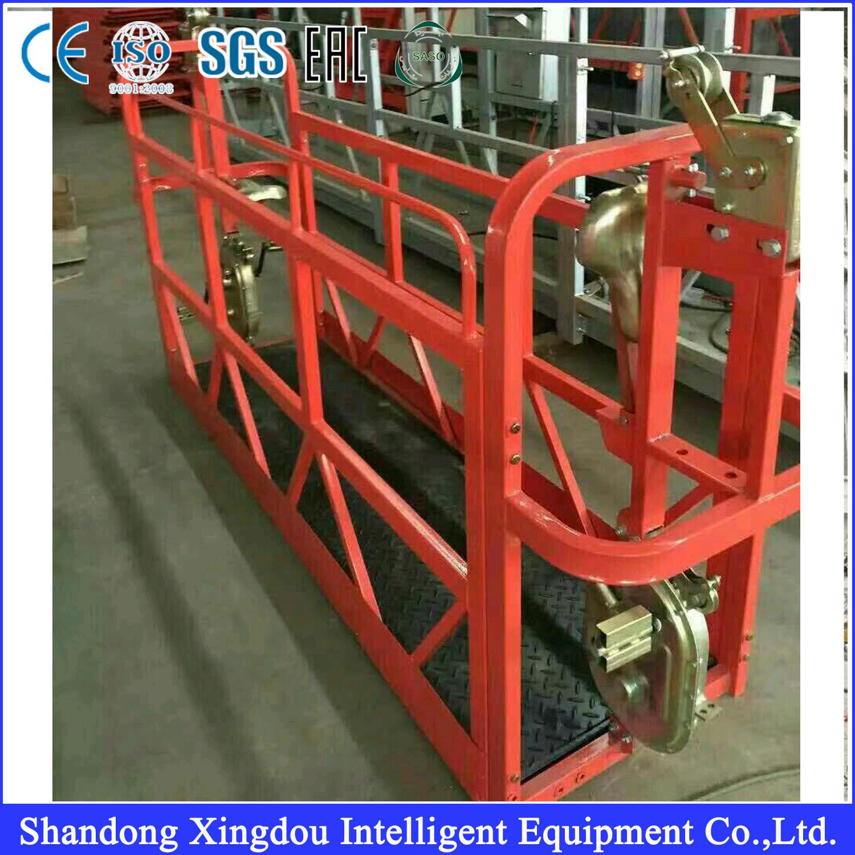 Hot Item Swing Stage Aluminum Alloy Suspended Scaffold Platform