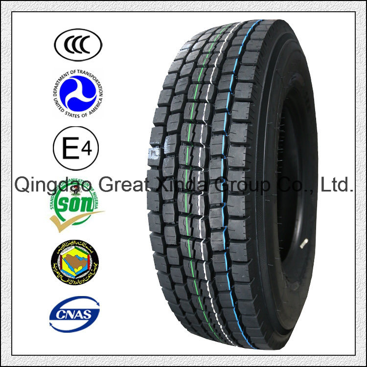 Truck Tire, TBR Tire with ECE (11R22.5 12R22.5 13R22.5)
