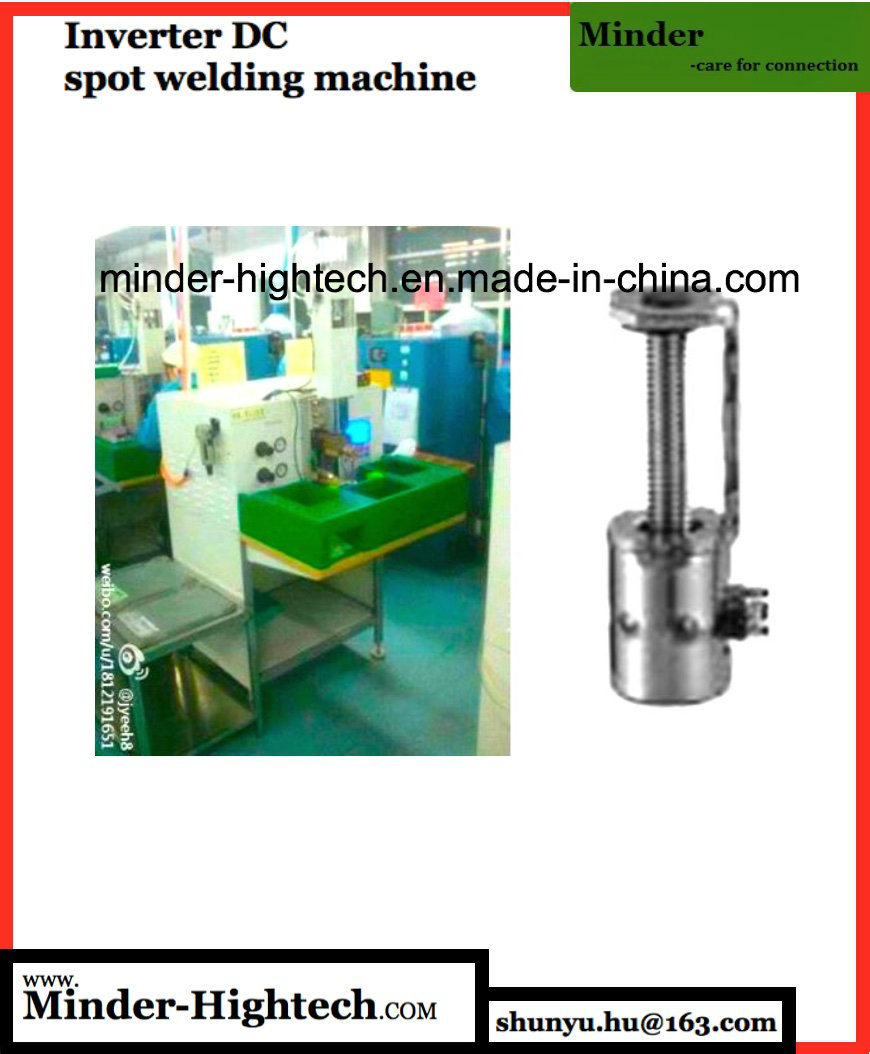 Finger Protected Bench Top Spot Welding Machine pictures & photos