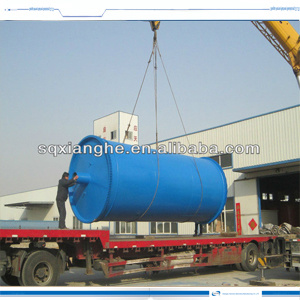 [Hot Item] Special Design Tube Reactor Pyrolysis Plant Recycling Plastic  Scrap to Furnace Oil