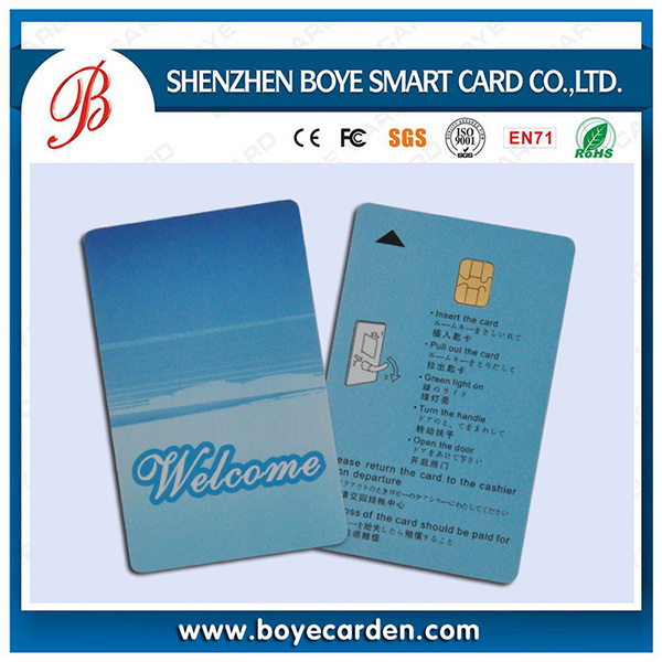 Printable Plastic Key Smart Card for Access Control or Attendence pictures & photos
