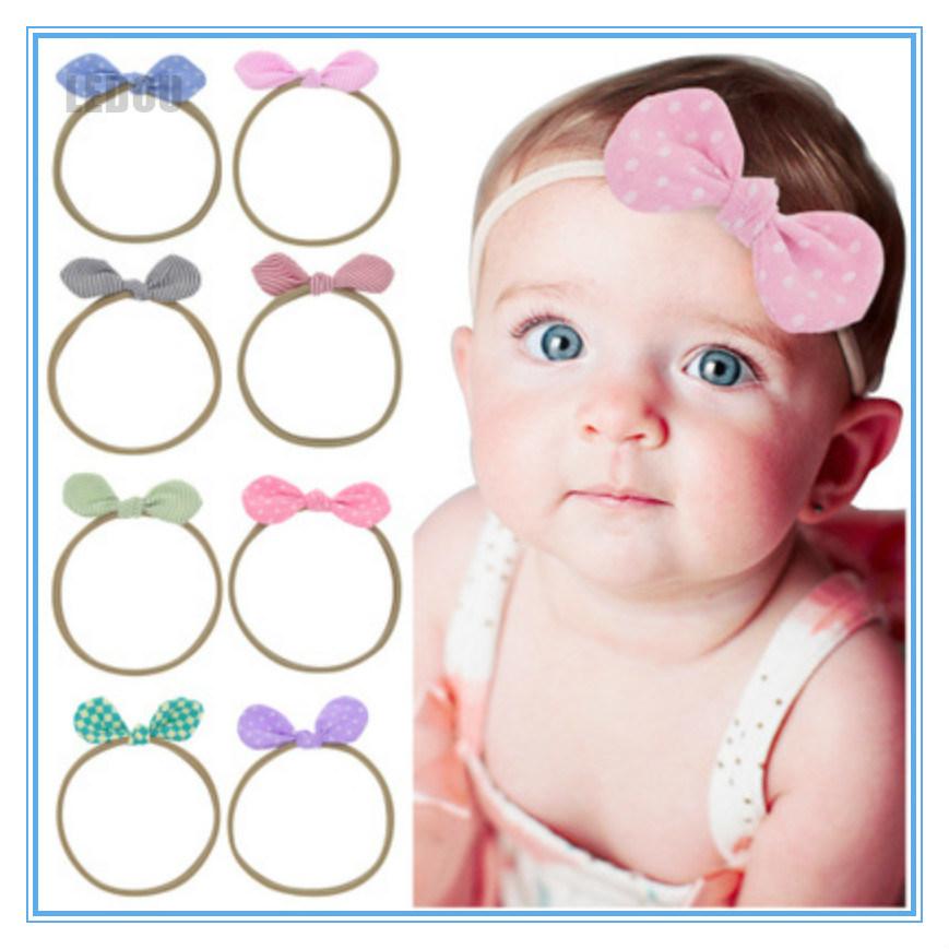 Baby Kids Girl/'s Cute Hair Band Rabbit Ears Elastic Flowers Bowknot Headbands