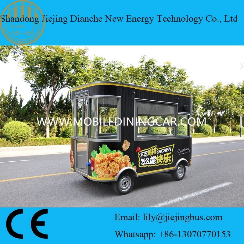 China 2018 Factory Direct Fried Chicken Food Truck For Sale With Ce