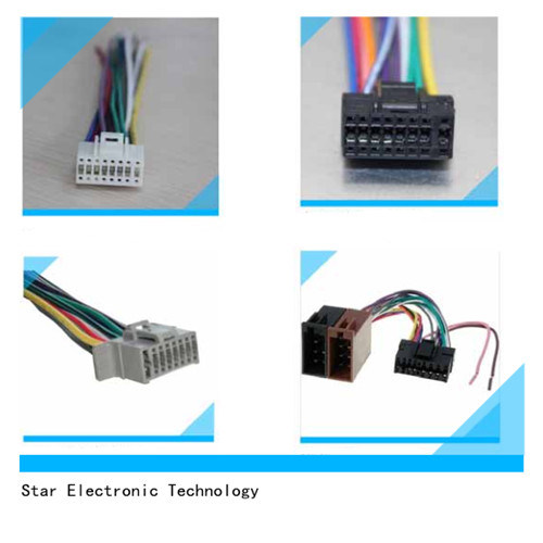 Magnificent China Rohs Approved Automotive Car Radio Video Iso Wiring Harness Wiring Cloud Nuvitbieswglorg
