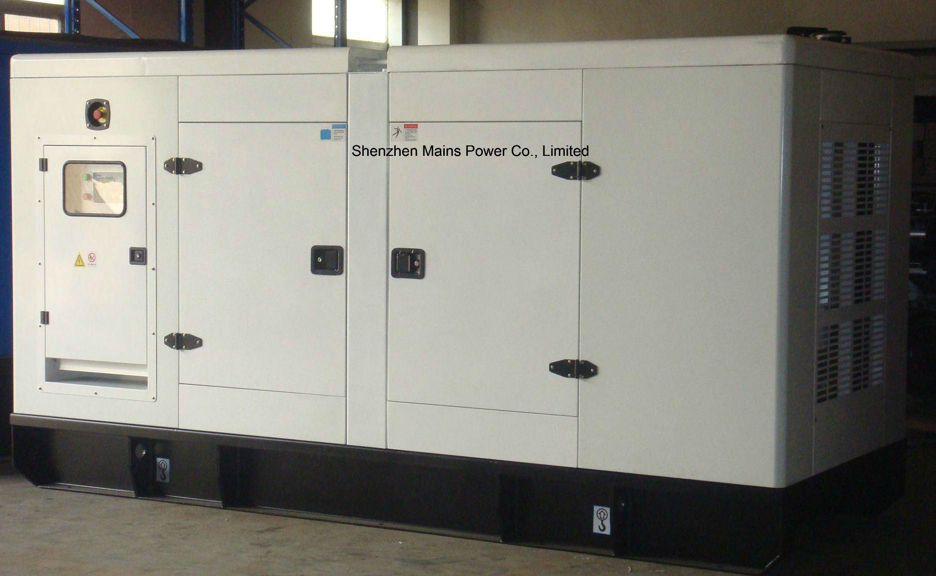 China 250kVA 200kw Cummins Diesel Generator Silent Enclosure