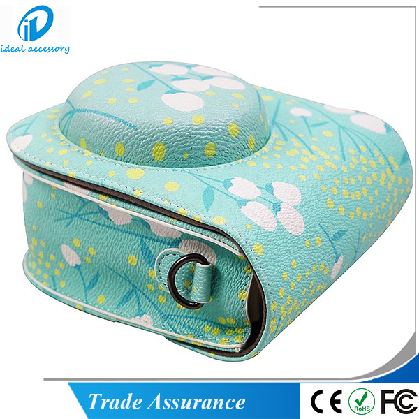 New Blue Flower Fujifilm Instax Mini8 Plus Camera Case