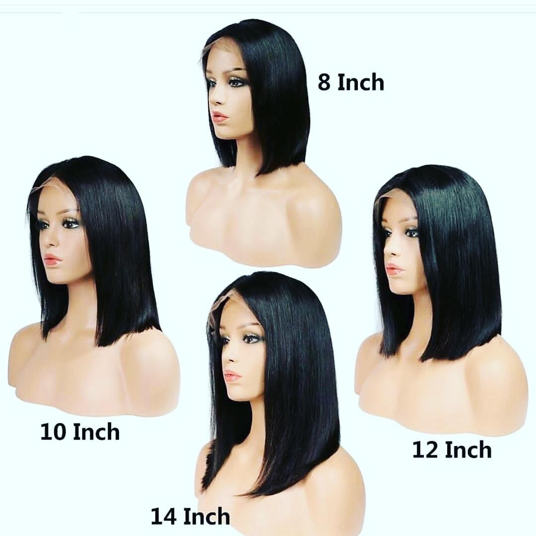 China Full Lace Human Hair Bob Wig Short Hair Brazilian Wig - China Full Lace  Wig and Hair Wig price