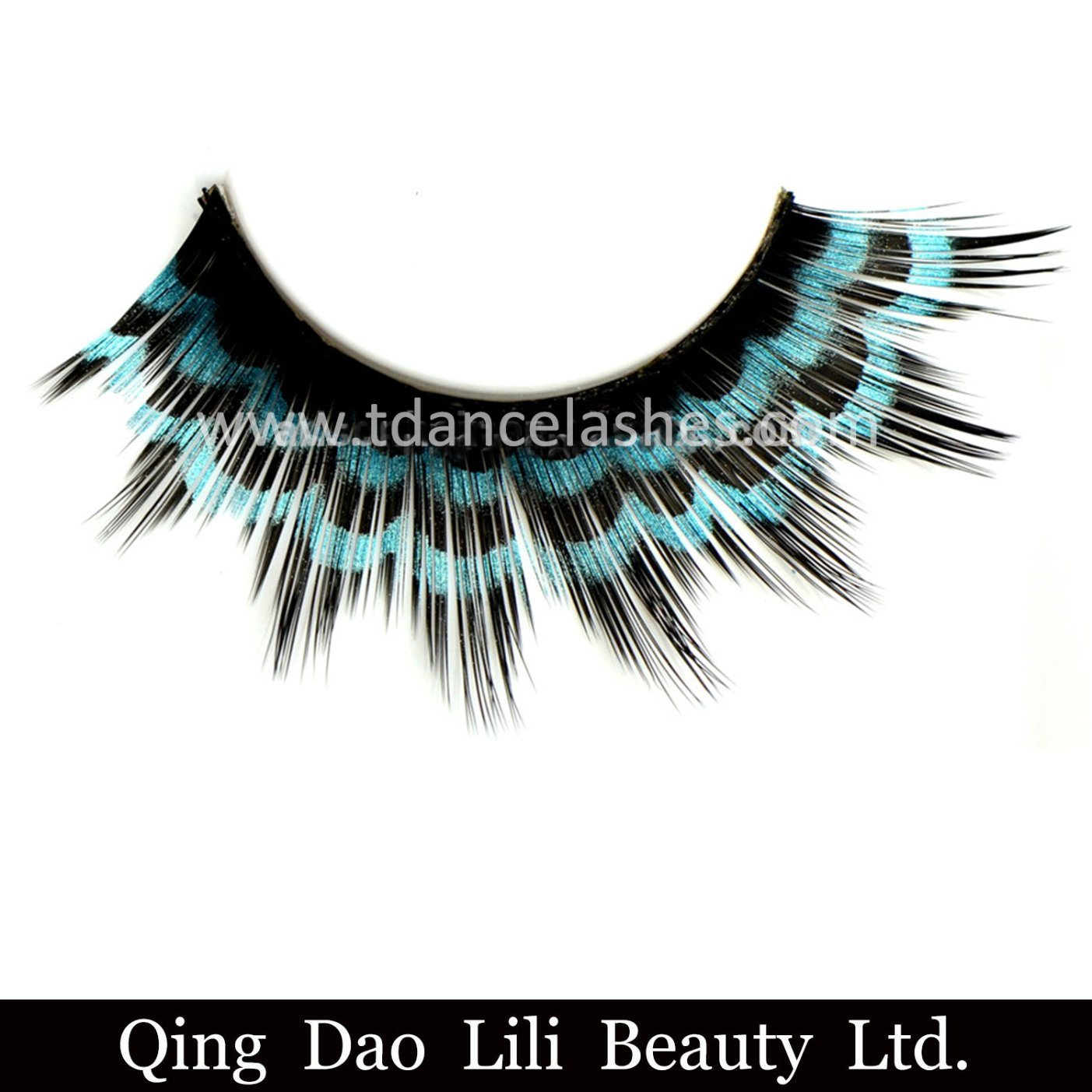 China Party Queen False Eyelashes Feather Lashes Fake Double