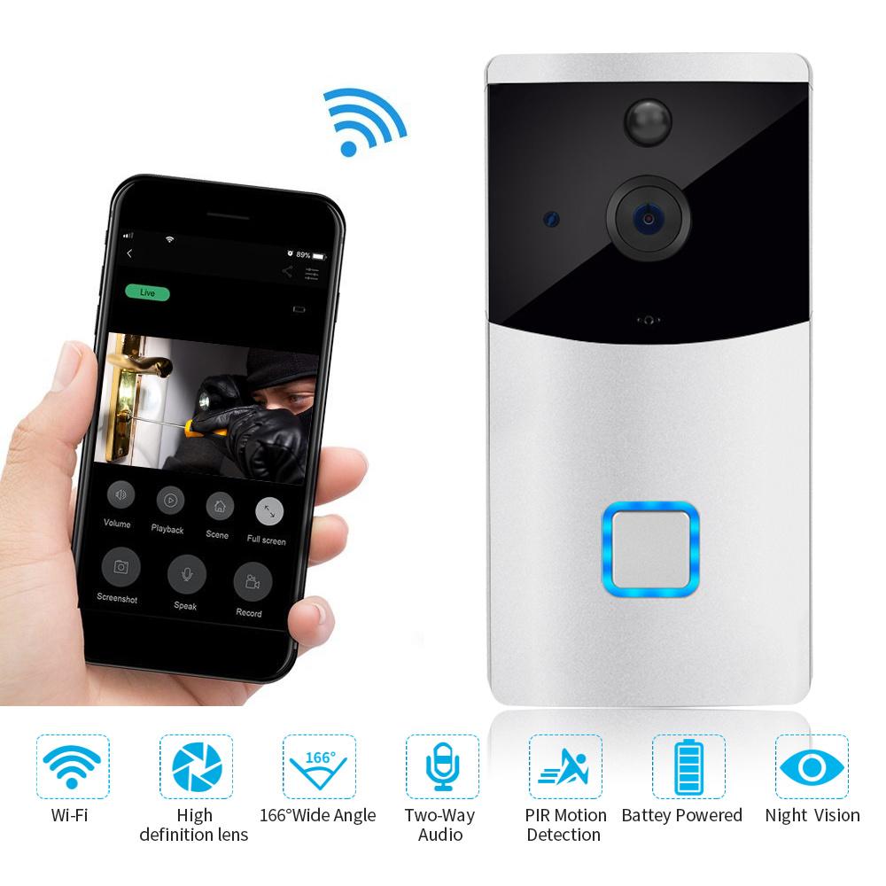 [Hot Item] Outdoor Music Smart WiFi Surveillance Door Bell Intercom System