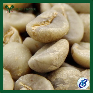 China Specialty Coffee Mesh 18 Arabica Raw Green Coffee Beans