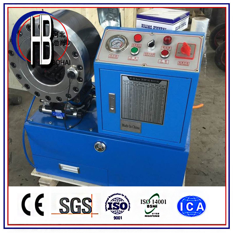 [Hot Item] Hot Sale Lowest Price Ce Finn Power Hydraulic Hose Crimping  Machine