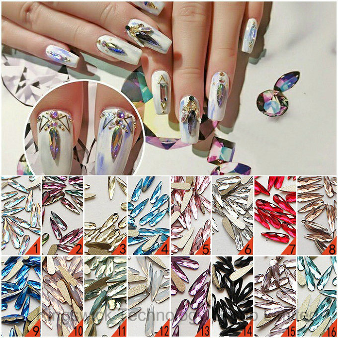 China Wholesale Crystal Rhinestone Hot Fix Nail Art Rhinestone for ...
